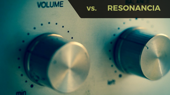 VOLUMEN VS. RESONANCIA